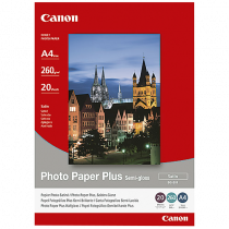 Fotopapper Canon Photo Plus Semi Glossy A4 20/fp