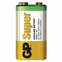 Batteri GP Super Alkaline 9 volt
